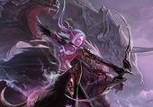 Puzzle gratuit femme archer & les dragons