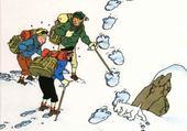 Puzzle tintin au tibet