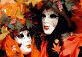 Jeux de puzzle : venise carnaval photo