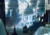 Jeux de puzzle : Fantasy landscape