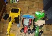 Jeux de puzzle : tracteur