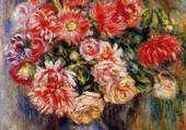 Puzzle bouquet-Pierre-Auguste Renoir