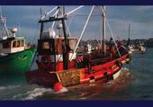 Jeu puzzle bateaux de pêche