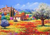 Puzzle peinture provencales