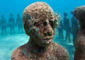Puzzles sculture sous marine