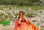 Puzzle matt dans le canoe