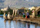Puzzle  Les Uros - Lac Titicaca - Pérou