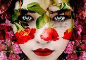 portraits de fleurs