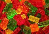 Jeu puzzle Lego acidulés