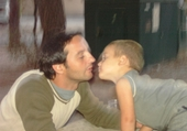 Papa et Romain