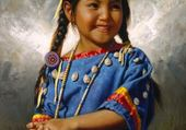 Puzzle Petite Amérindienne