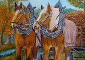 Jeux de puzzle : peinture de A Guillery
