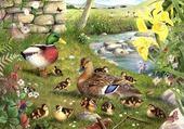 Puzzle peinture d'animaux