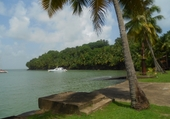 Puzzle Port de l'Ile du Salut à Cayenne