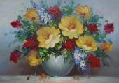 Puzzle en ligne bouquet jaune