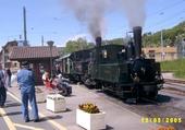 Puzzle Train à vapeur