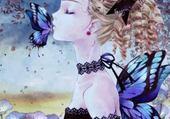 Puzzle gratuit bisou papillon