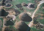 Puzzle village africain