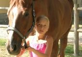 Puzzle michele et un cheval