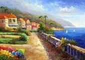 Puzzle mer mediterranee
