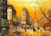 Puzzle Jeux de puzzle : RUE DE PARIS