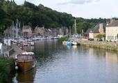 Puzzle gratuit port fluvial breton