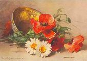 Puzzle en ligne fleurs des champs - cath. Klein