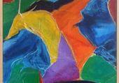 Puzzle toile abstraite
