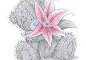 Puzzles nounours fleur