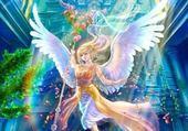 Puzzle Ange de la paix