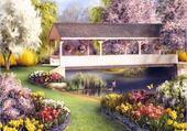 Puzzle en ligne beau jardin