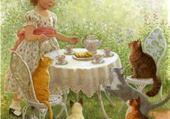 Jeux de puzzle : peinture  Ruth Sandeson