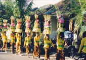 Puzzle en ligne procession Ubud Bali