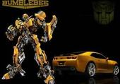 Puzzle transformers bumblebee