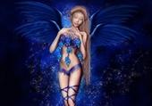 Puzzle gratuit fée bleue