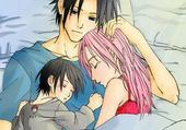 sasuke et sa famille