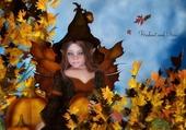 Puzzle elfe d'automne