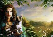 elfe et l'ocelot