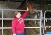 puzzle quelqu'un et un cheval