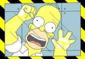 Puzzle homer simpsons