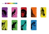 animaux en couleur