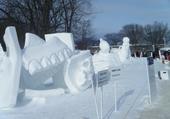 festival des glaces à Quebec