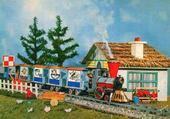 Le petit train rébus