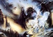 fée contre le dragon