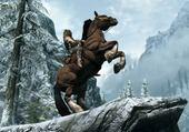 Skyrim à cheval