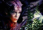 Puzzle femme-dragon