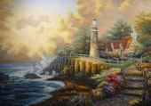 paysage peint