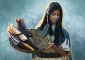 Jeune Amérindienne