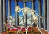 Squelette à la coquille