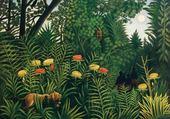 Puzzle Fauve dans la jungle